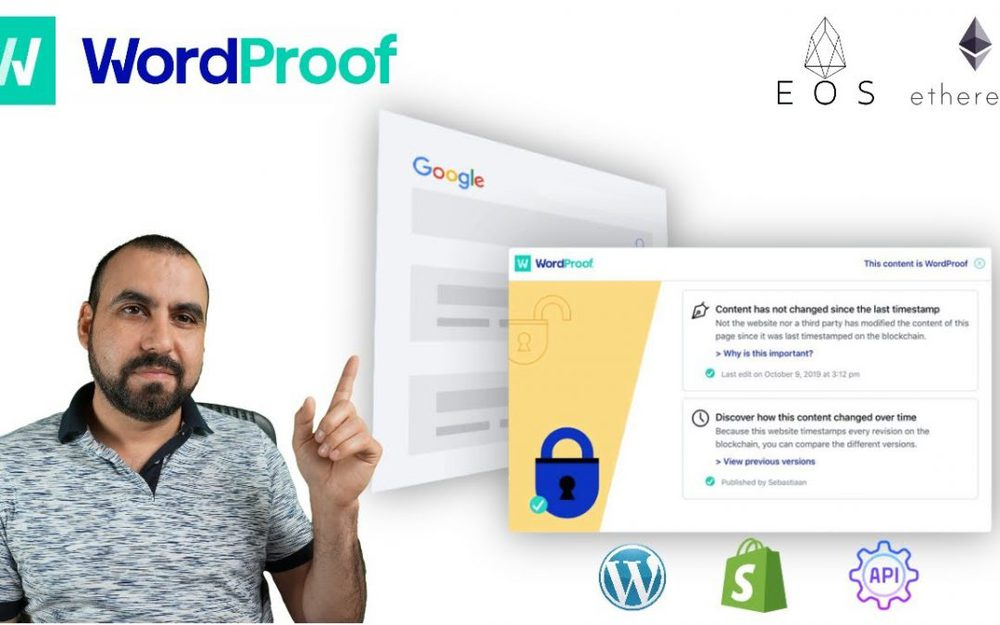 Copyright protect content from being stolen with Timestamp Blockchain WordProof