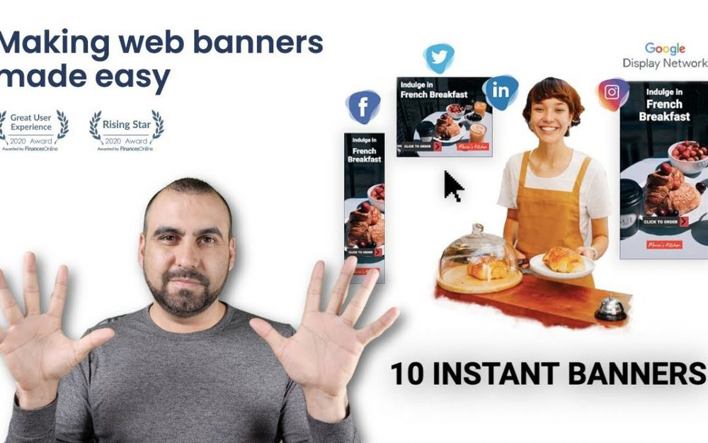 Generate multiple image size banners quickly with Qwikbanners