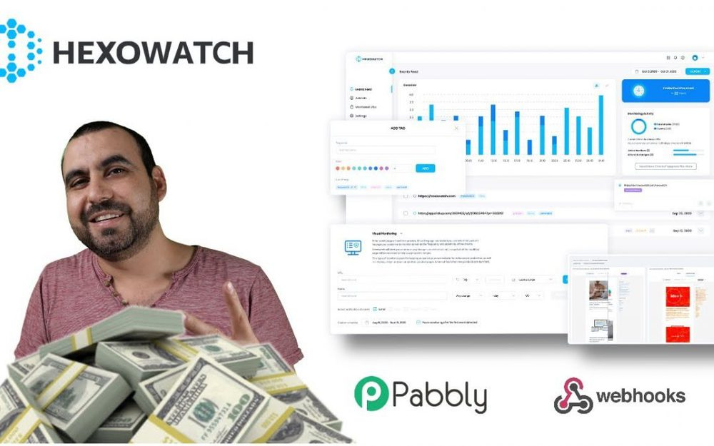 How to make money with website change monitoring using Hexowatch