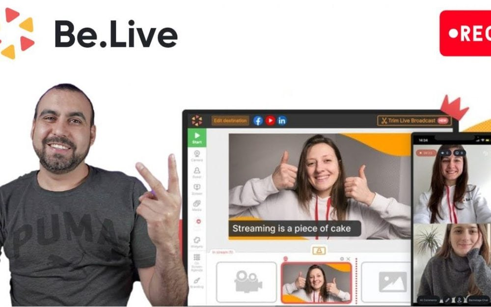 Stream to Youtube and Facebook with BeLive – Streamyard   deal alternative