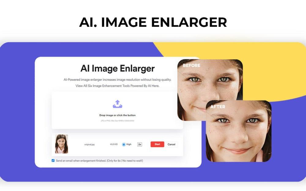 AI Picture Enlarger | An Unique SaaS Mantra Deal