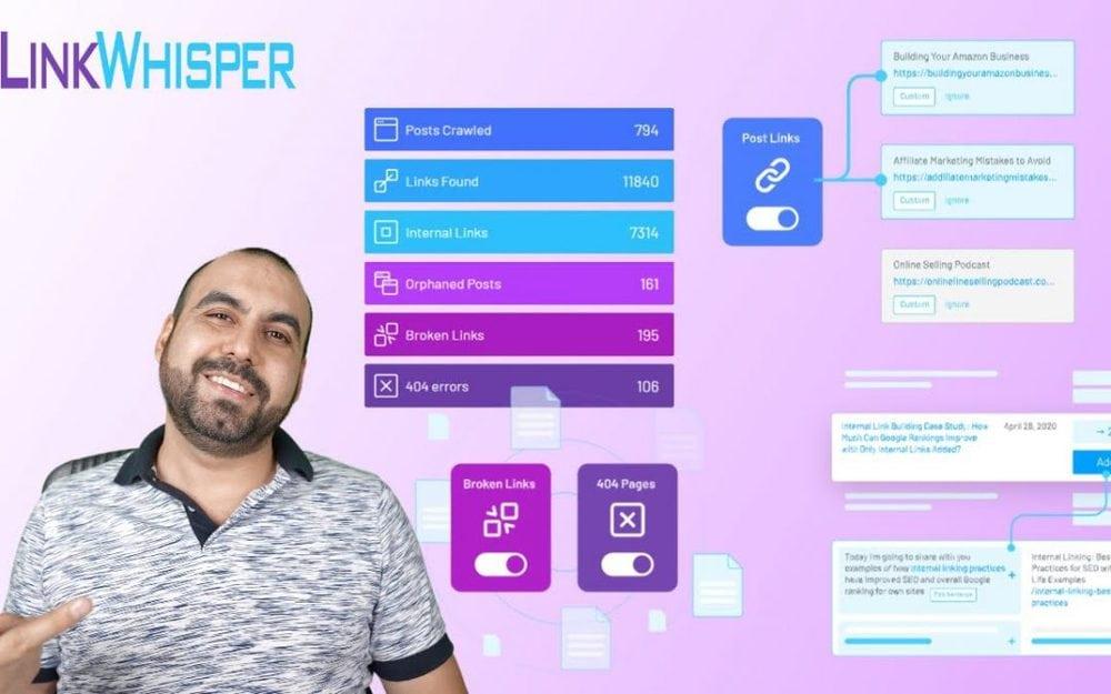 LinkWhisper WordPress automatic inbound link builder