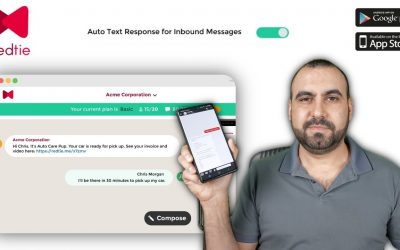 Send and receive text messages with attachments just like email REDTIE
