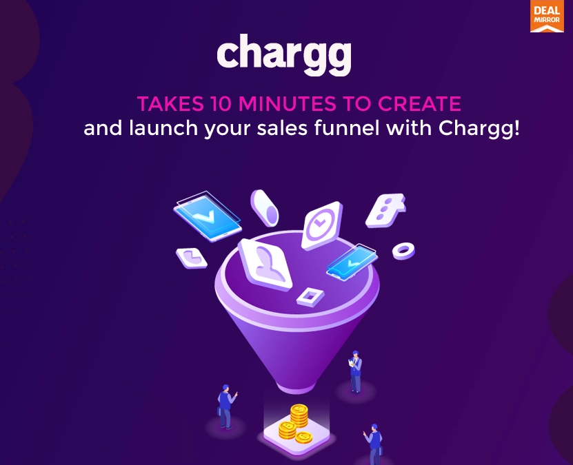 Chargg Lifetime Deal : Create Unlimited Product Funnels